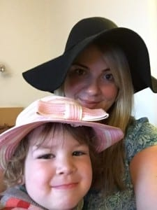 Me and Isla hats