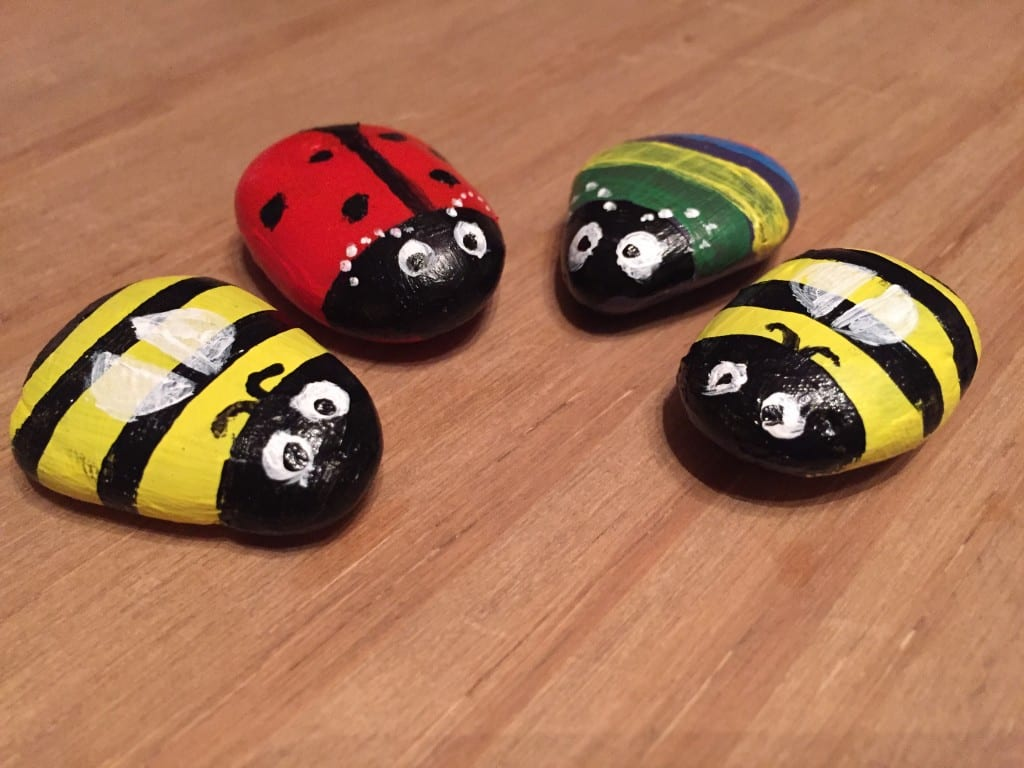 Painting Pebble Critters