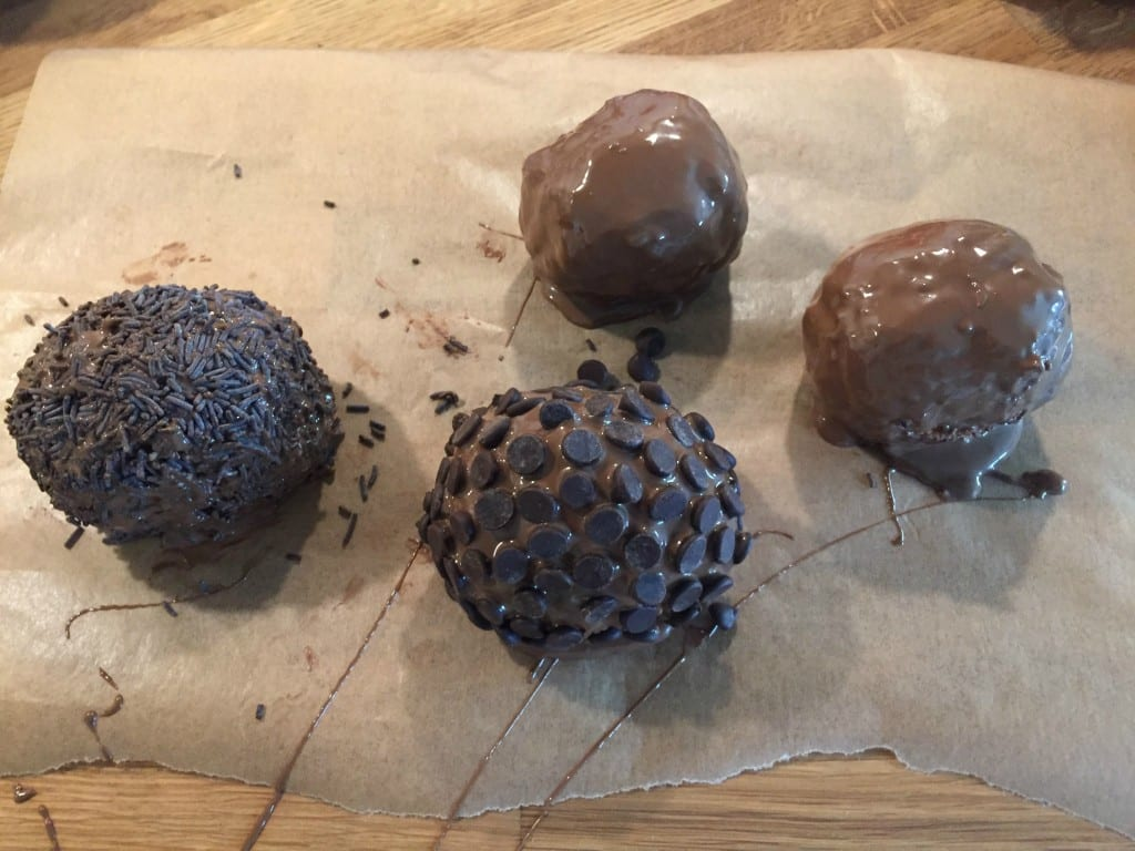 Chocolate Scotch Eggs