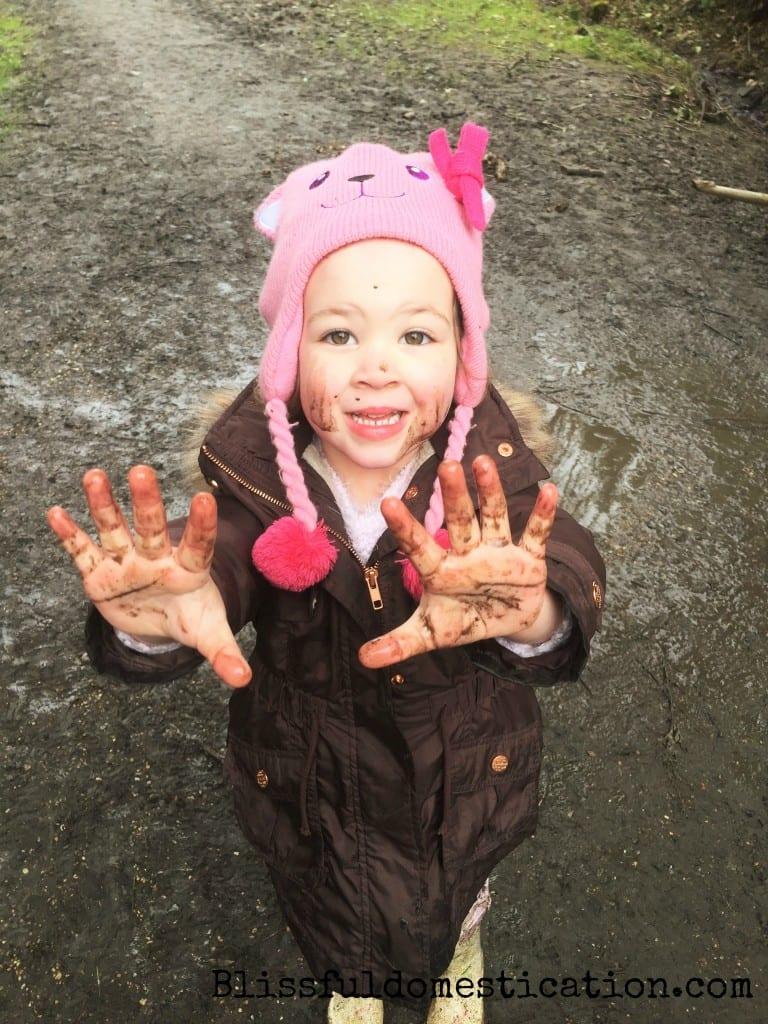 Getting muddy