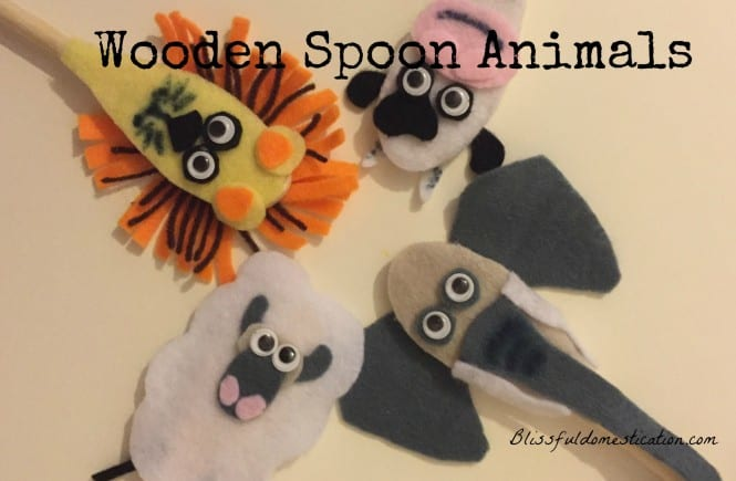 Wooden Spoon Animals