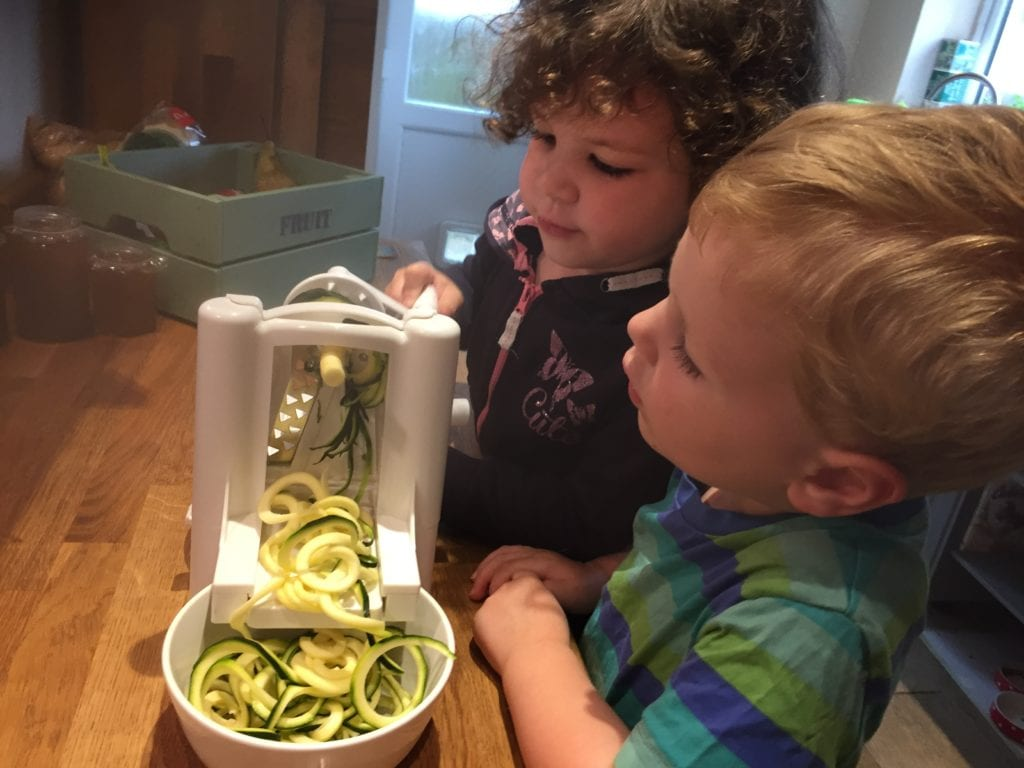Will a Spiralizer Encourage Kids to Eat Veg?