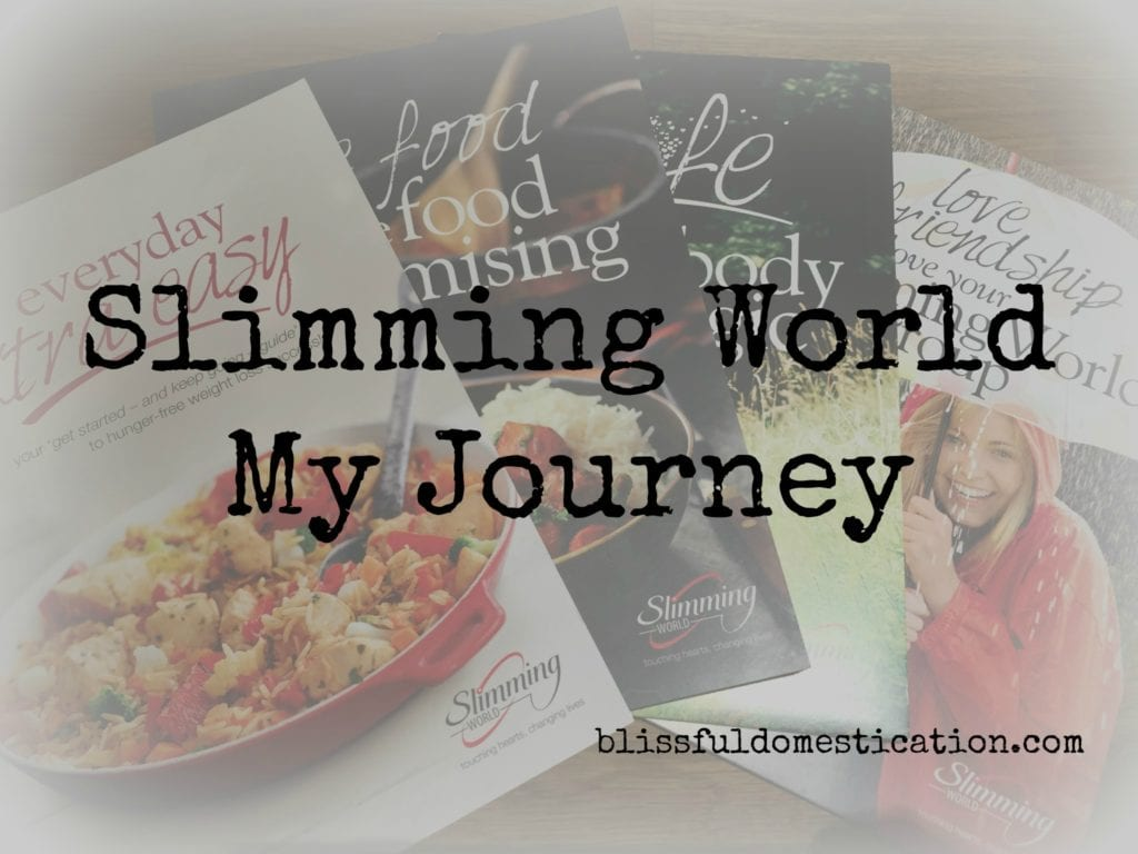 Slimming World: My Journey Starts Here