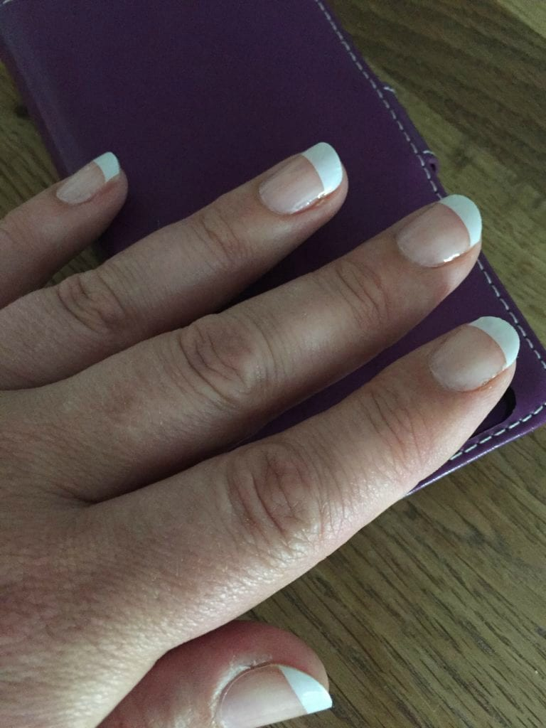 Jamberry French Polish