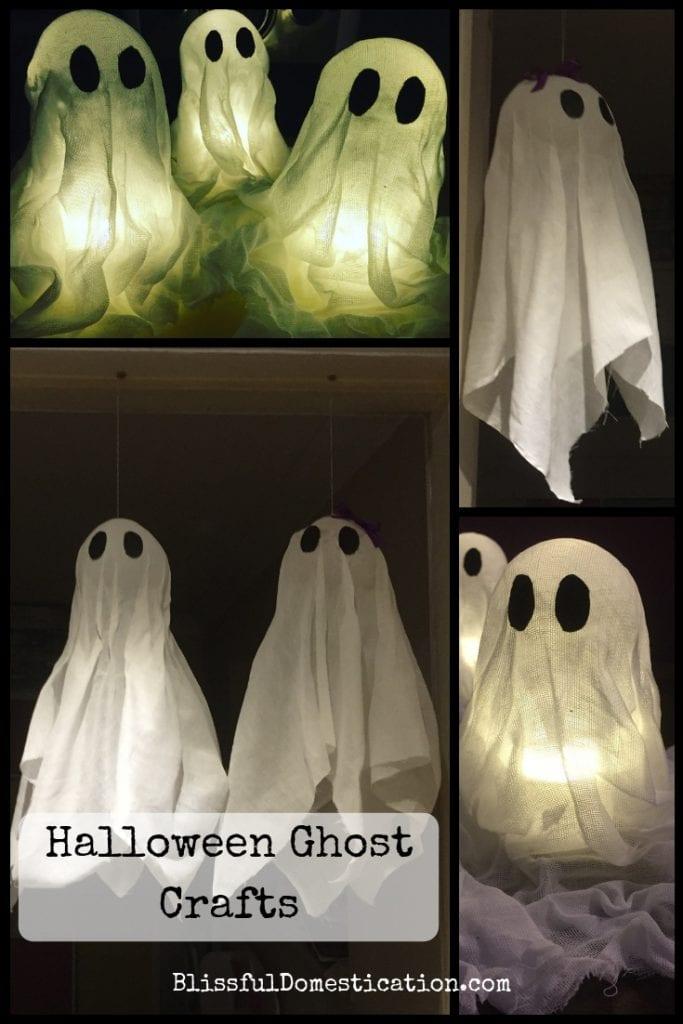 Halloween ghost crafts pin