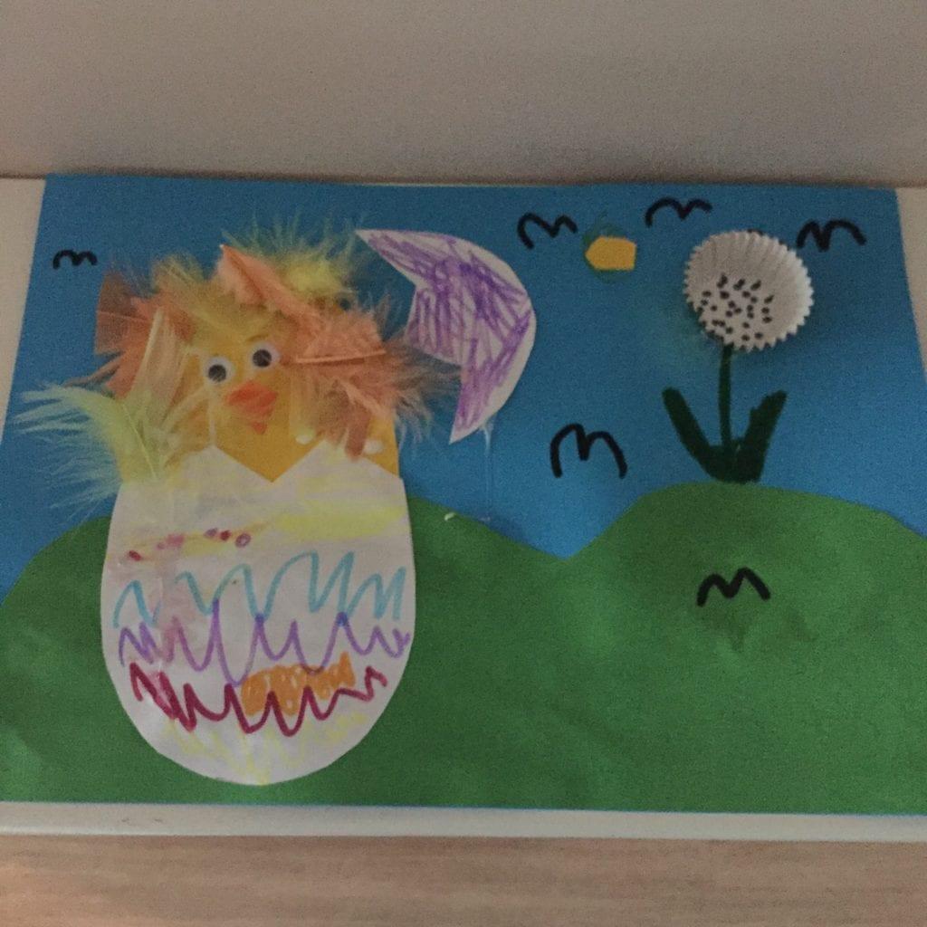 Simple Easter Artwork