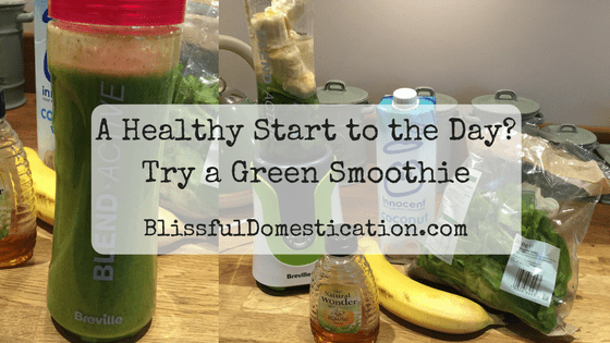 A Healthy Start to the Day? Try a Green Smoothie
