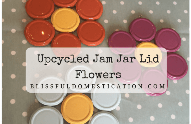 Upcycled Jam Jar Lids