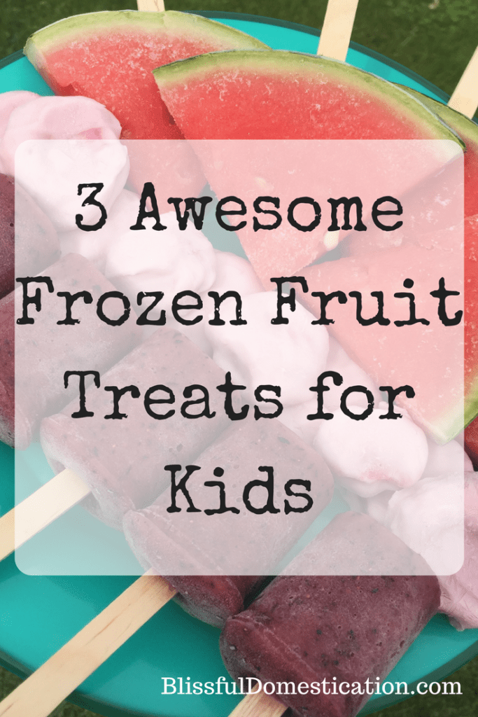 Frozen Fruit Treats