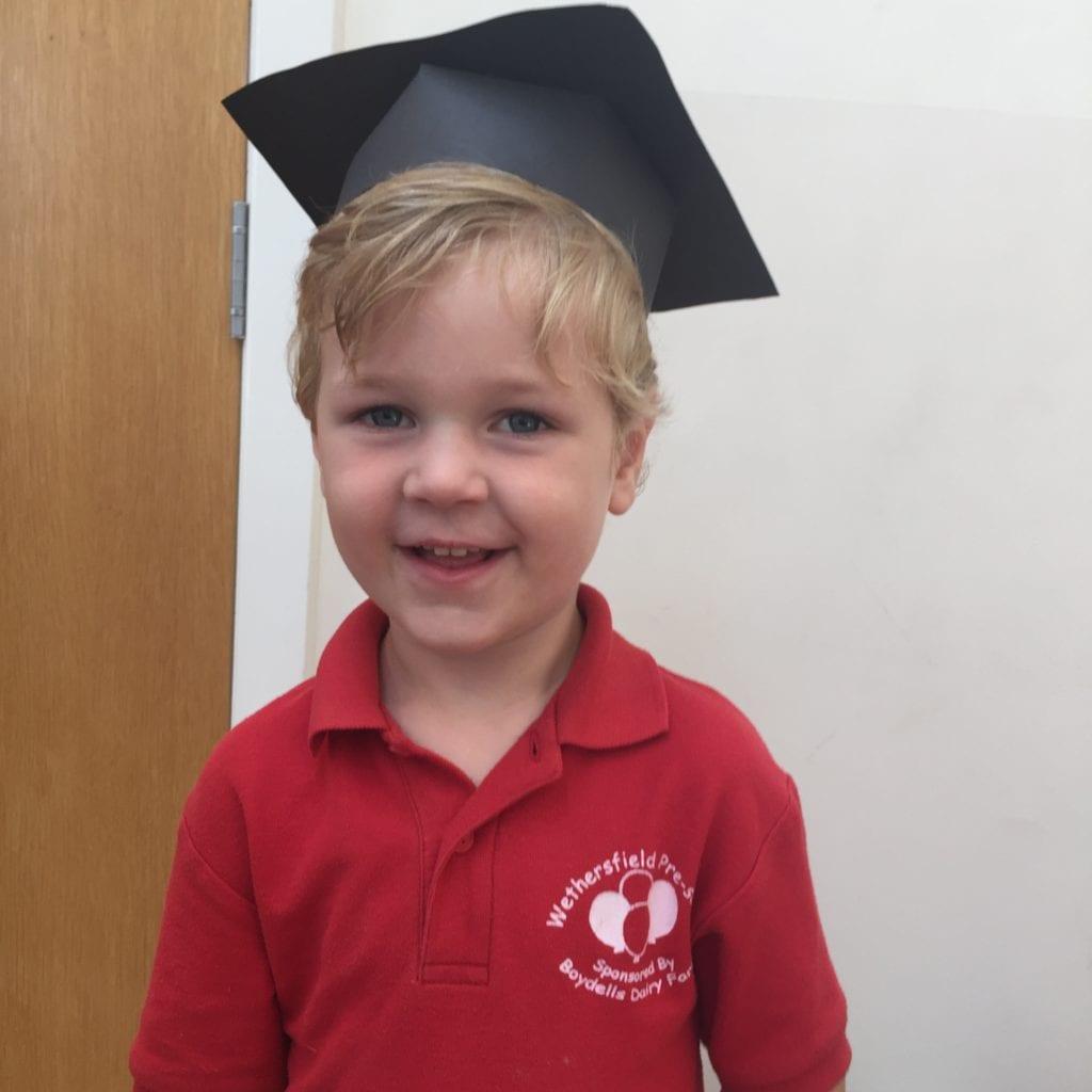 Oliver's Pre-school graduation