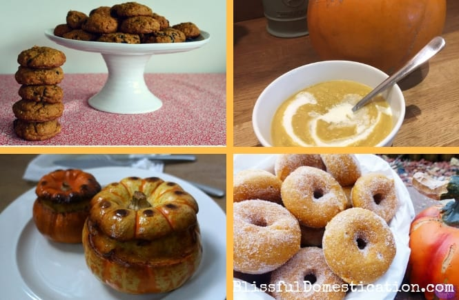 Sweet and Savoury Pumpkin Recipes