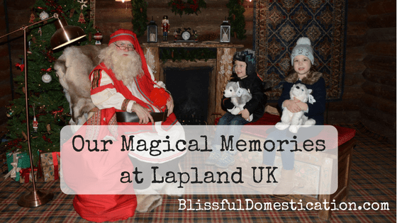 Our Magical Memories at Lapland UK