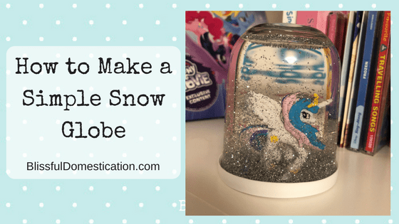 How to Make a Simple Snow Globe
