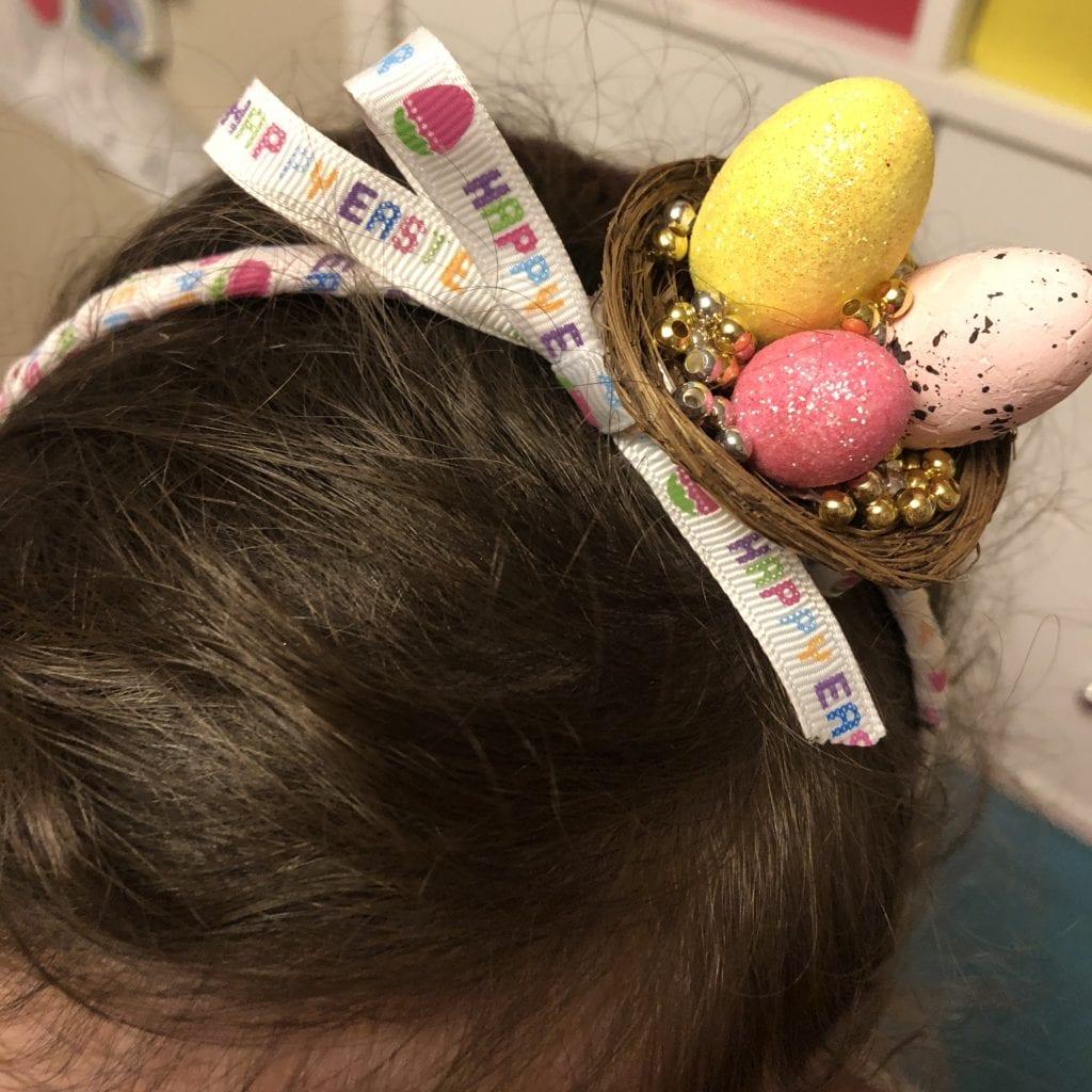 DIY Easter Headband
