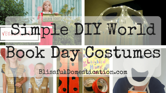 Simple DIY World Book Day Costume Ideas