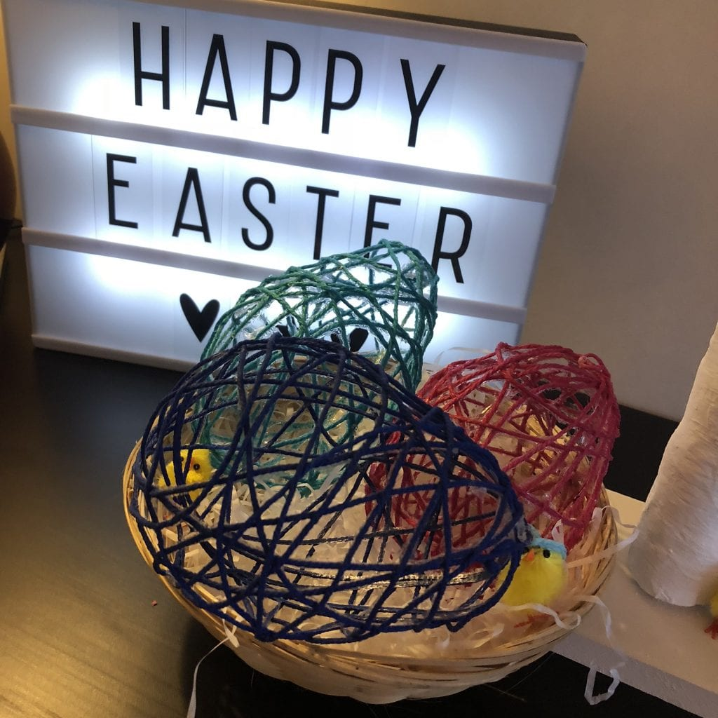 Twine Easter egg Decorations