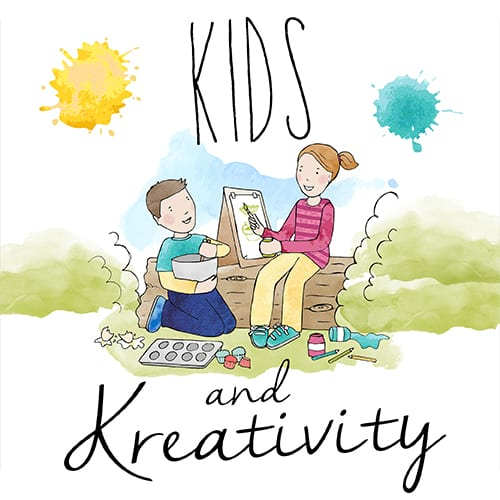 Kids and Kreativity- A New Linky Party