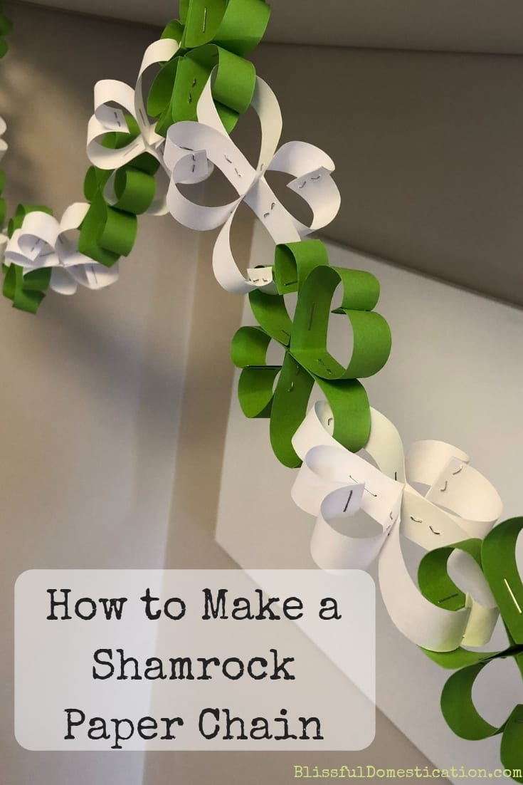 How to Make a Shamrock Paper Chain
