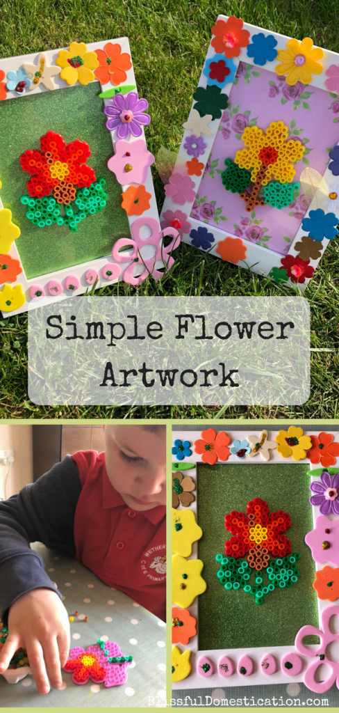 Simple Flower Artwork