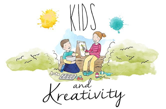 Kids and Kreativity Featured Image