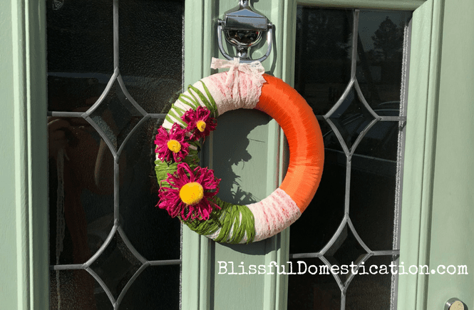 DIY Spring Wreath with Crafty Creatives