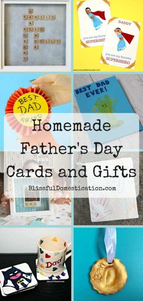 Pin for Homemade Father's Day Cards and Gifts