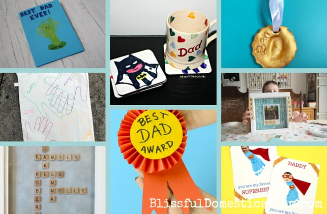 Homemade Father's Day Cards and Gifts