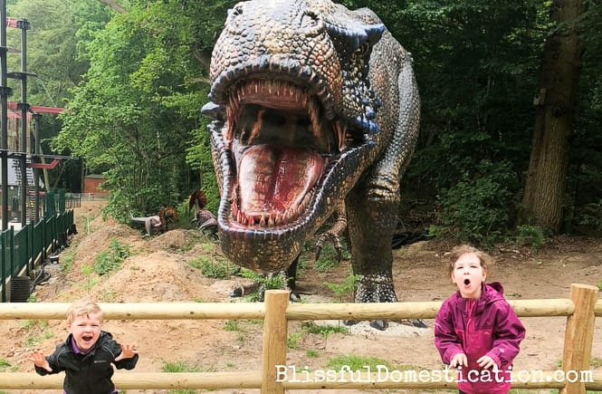 A Roarrsome Family day at Roarr! Dinosaur Adventure