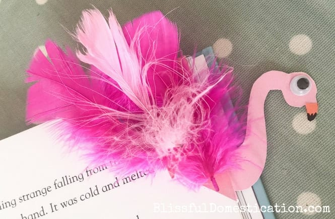 Featured Image for Flamingo Corner Bookmark