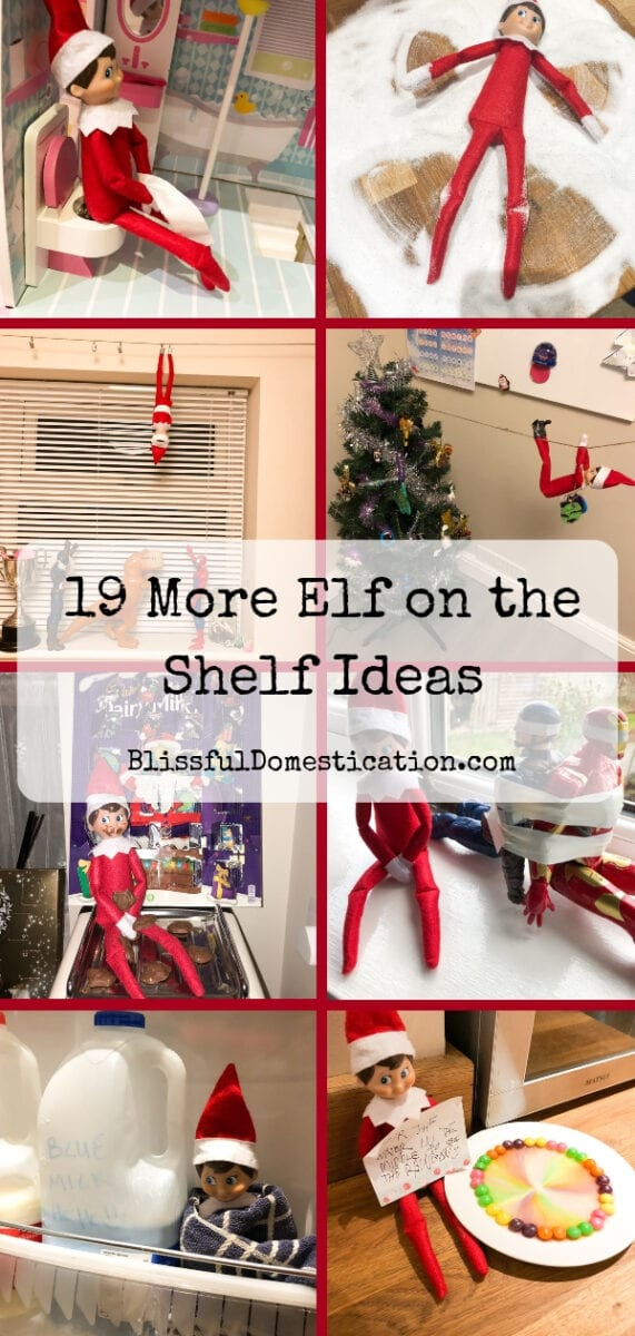 Elf on the Shelf Ideas Pin