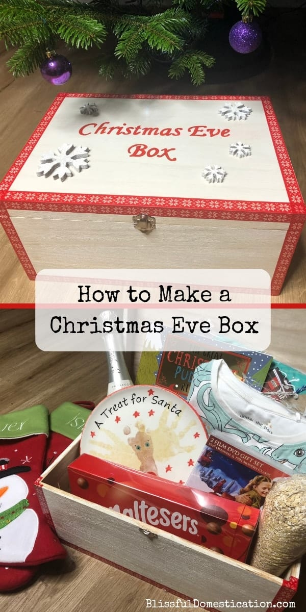 Christmas Eve Box Pin
