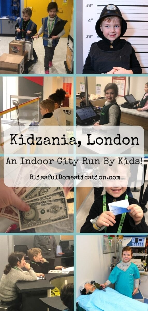 Our Day out at Kidzania London