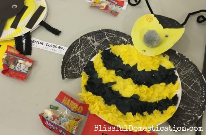 Featured image for how to make a paper plate bumble bee