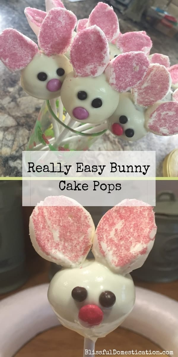 How To Make Bunny Cake Pops Pin