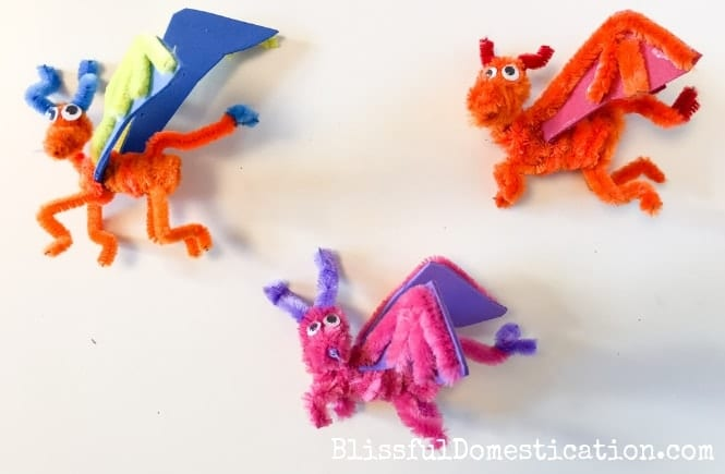 Pipe Cleaner Dragon