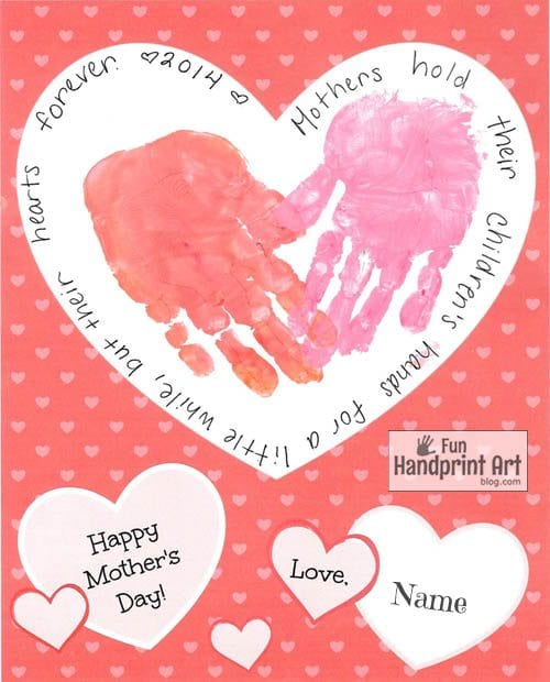 29 Mother S Day Cards That Kids Can Make Blissful Domestication
