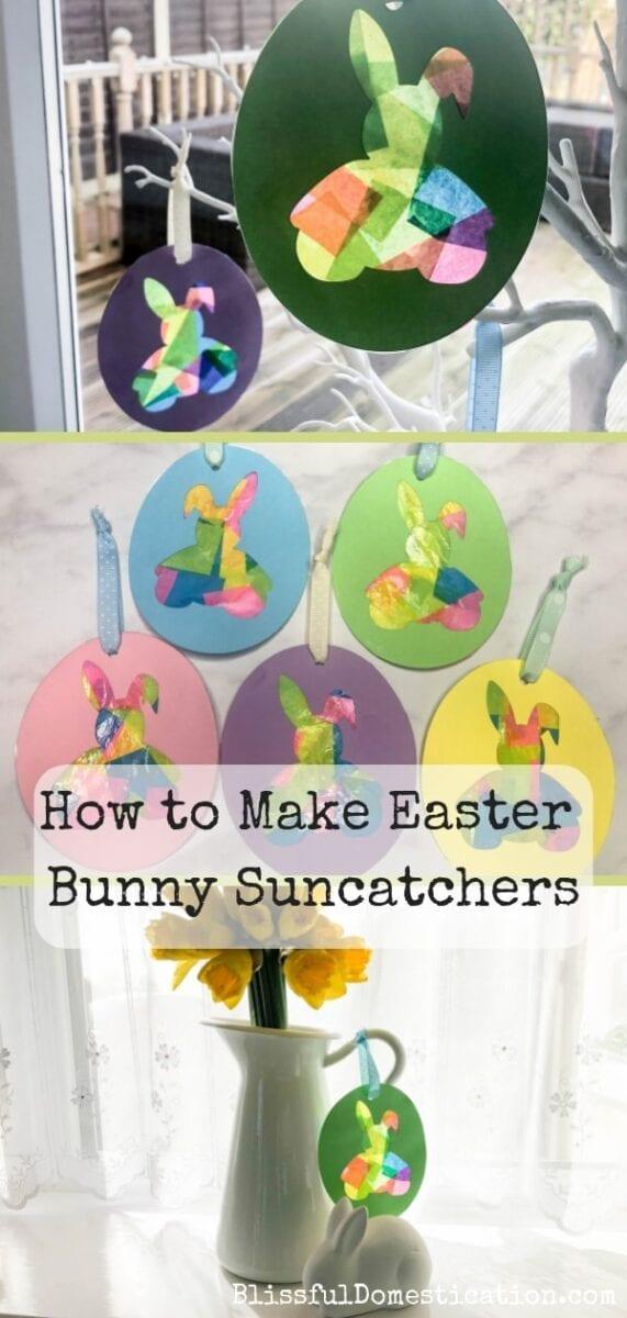 Easter Bunny Suncatchers Pin