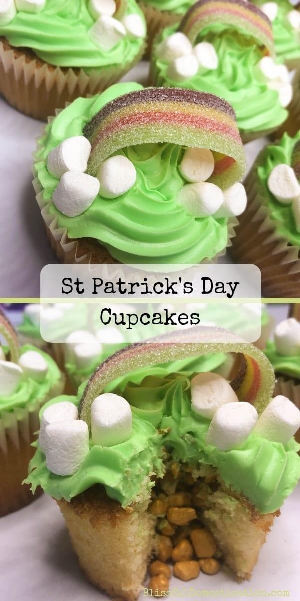 St Patricks Day Cupcake Recipe PIn