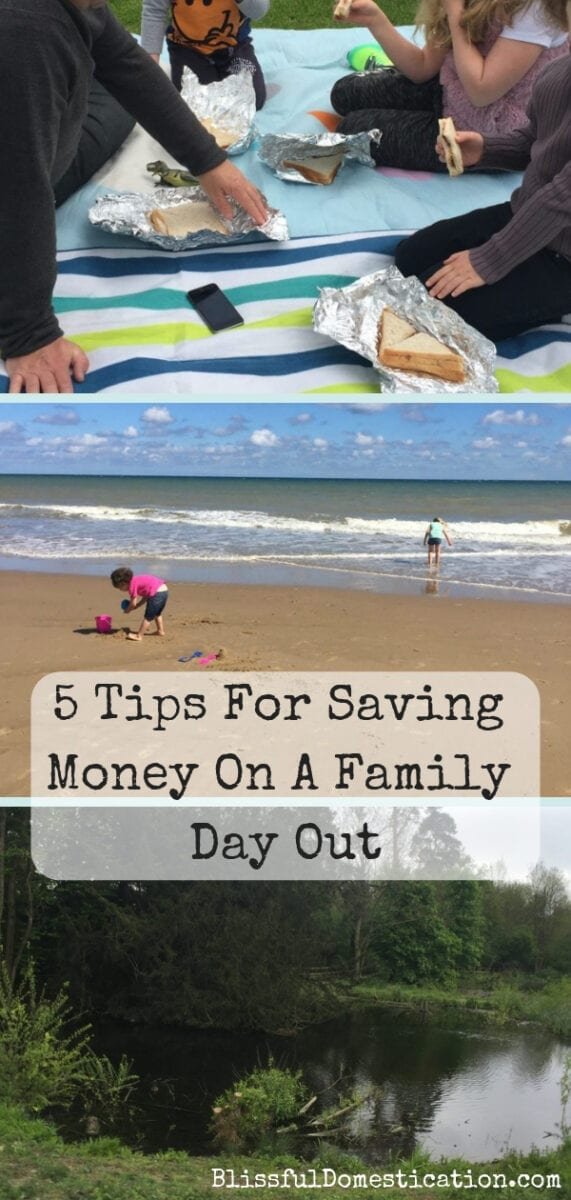 5 tips for saving money on a family day out
