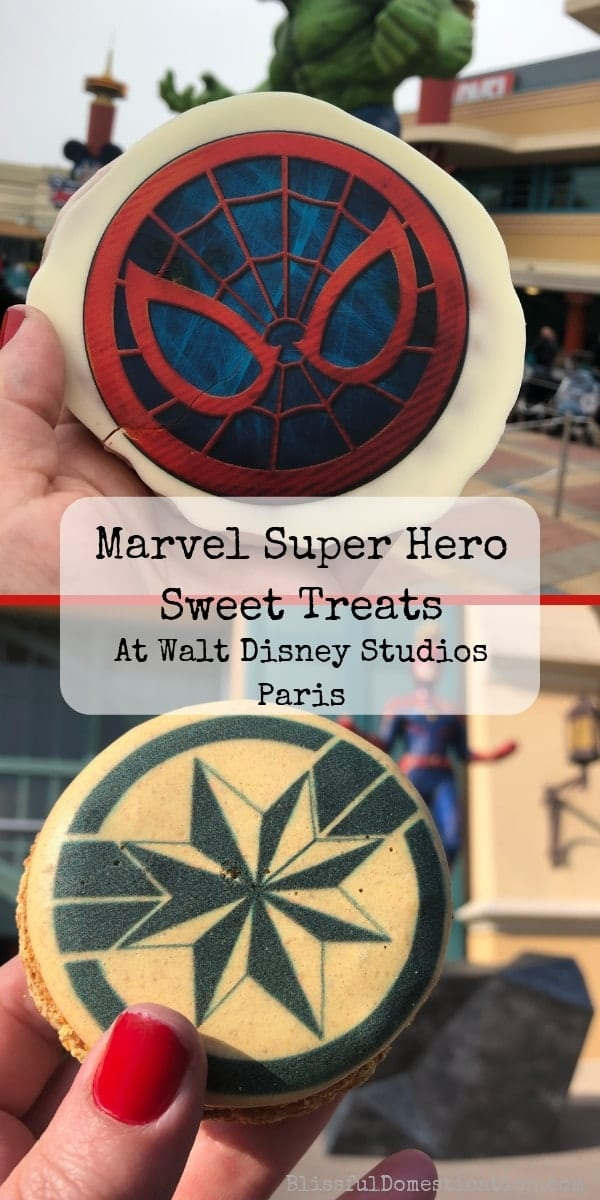Marvel themed sweet treats pin