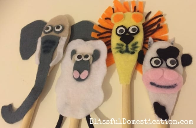 Wooden Spoon Animals Featured Image