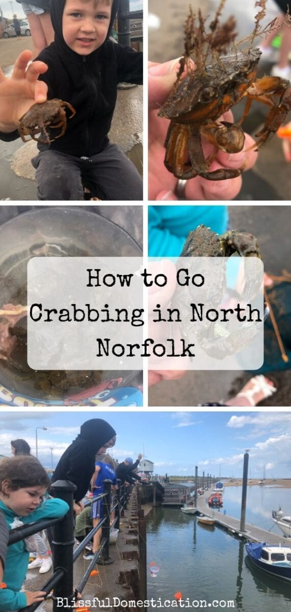 Crabbing in North Norfolk PIn