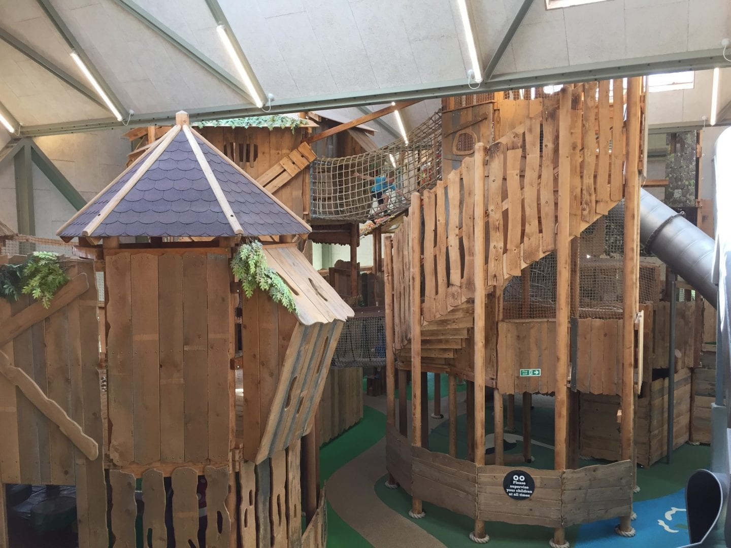 the Hootz House indoor play area at Pensthorpe Natural Park