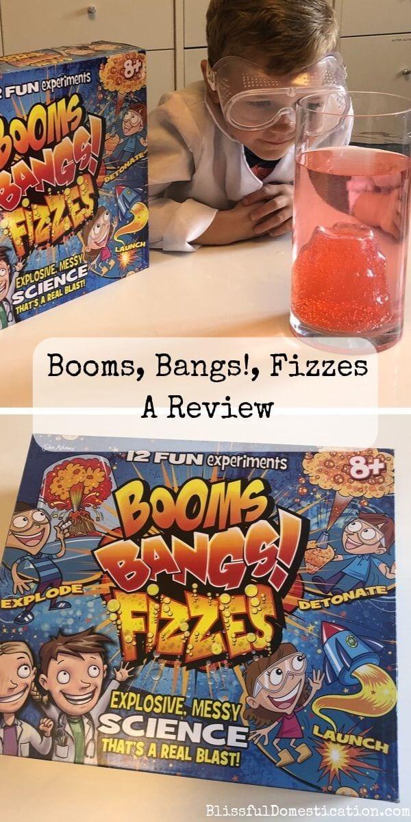 Booms, Bangs!, Fizzes Pin