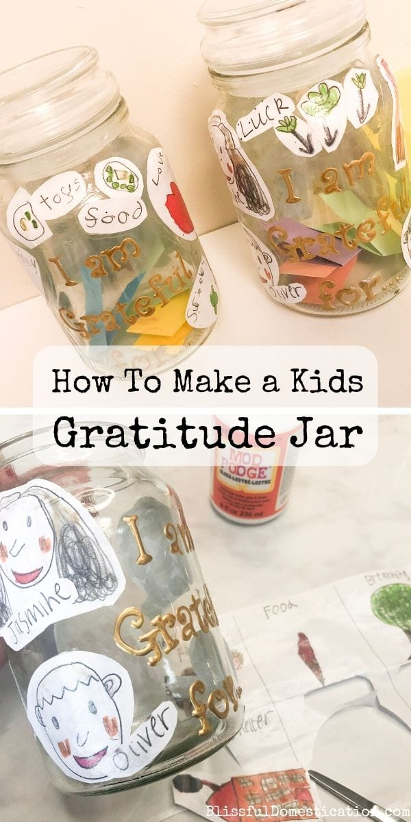 How to Make a Gratitude Jar PIn
