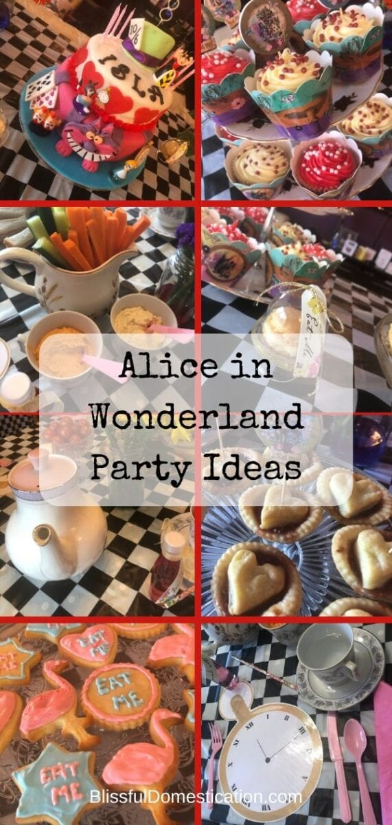 Alison in Wonderland Party Ideas Pin